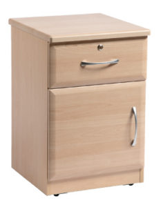 Acorn Bedside Door, Drawer & Lock ACOR005 Image