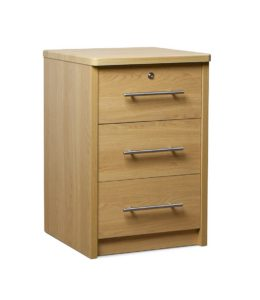 Holly 3 Drawer Bedside HOLL003 Image