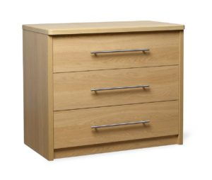Holly Chest of 3 Drawers 800 Wide HOLL002 Image