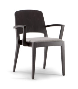 Kallaste Wooden Back Arm Chair KALL001 Image