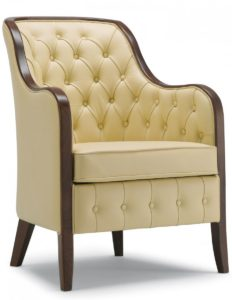 Ashley High Back Button Chair ASHL001 Image
