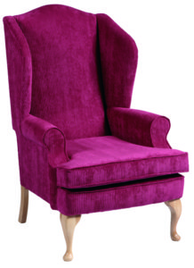 Ellen Queen Anne High Chair ELLE001 Image