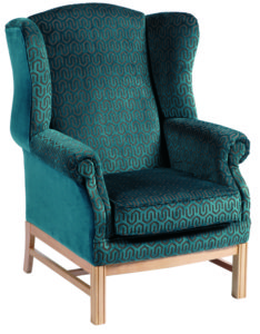 Heathcliffe Wing Back Chair HEAT001 Image