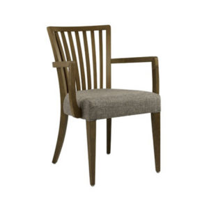 Weighell Stripe Back Arm Chair WEIG003 Image