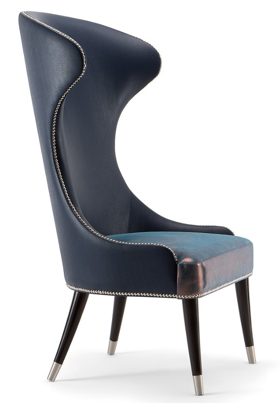 Cerulean High Back Lounge Chair CERU005 Image