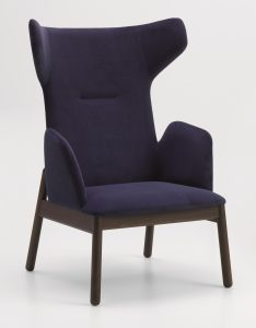 Rivet High Back Lounge Chair RIVE009 Image