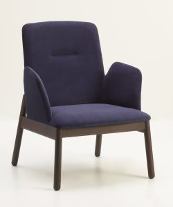 Rivet Lounge Chair with Arms RIVE008 Image