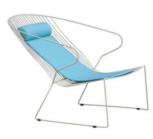 Uxbridge Lounge Chair with Cushion UXBR007 Image